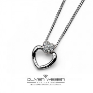 [Oliver Weber] Necklace Cuore 9099R
